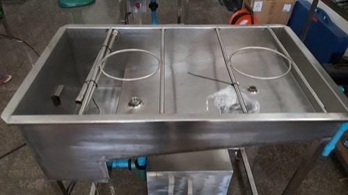 เครื่องล้างถังน้ำภายใน