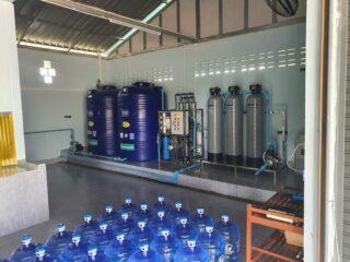 ติดตั้งโรงงานผลิตน้ำดื่มขนาดเล็ก